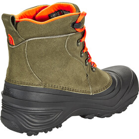 The North Face Chilkat Lace II Boots Kids tarmac green/scarlet ibis